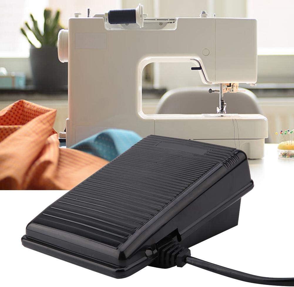 Pedal de Control de pie, 220V Pedal de Control de pie con Cable de alimentación para la máquina de Coser Singer 974 (Enchufe de la UE): Amazon.es: Hogar