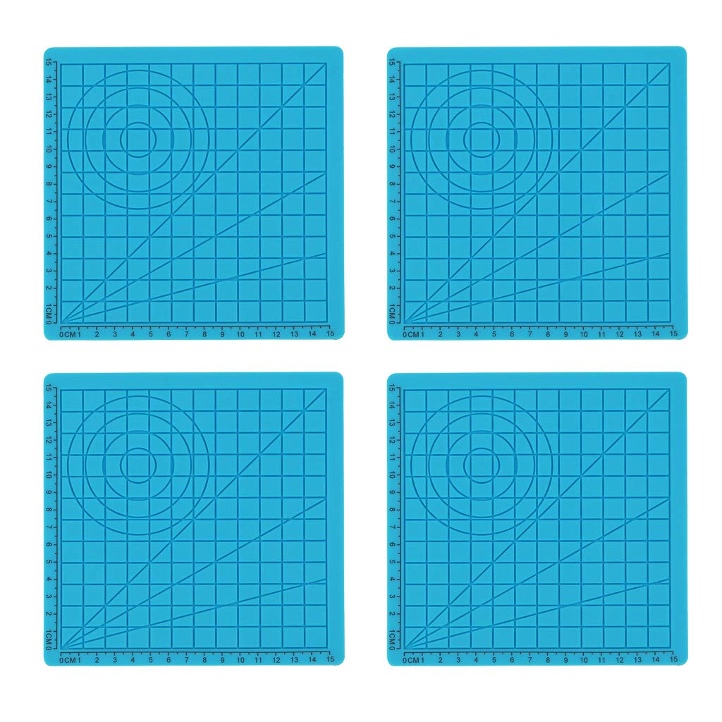 Shiwaki Plantilla Básica De Tapete De Silicona De Diseño 3D ...