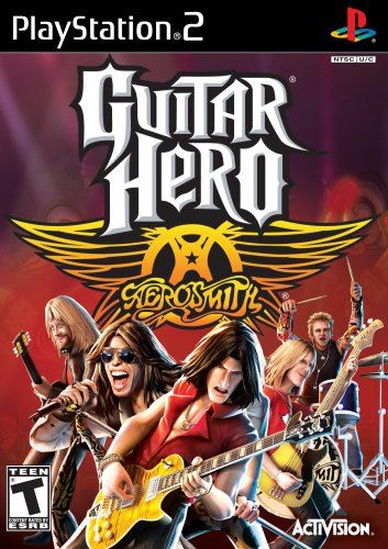 Guitar Hero - Aerosmith - PlayStation 2 (Game only) (Guitar Aerosmith Games Ps2)