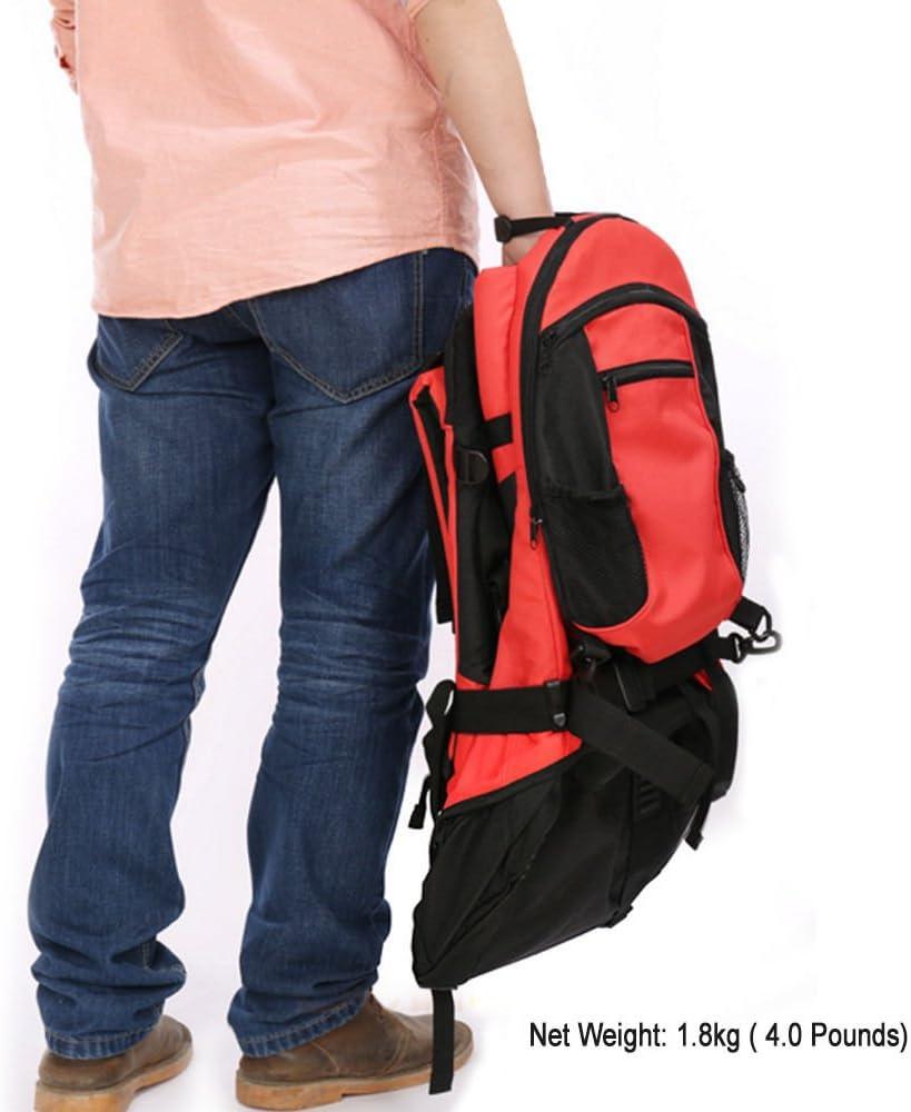Sac de transport pour enfants Red Sac /à dos de randonn/ée avec housse de pluie pour enfant Protection contre le soleil