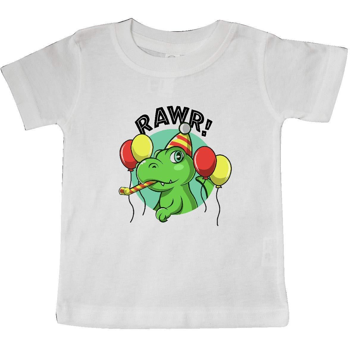 inktastic Rawr Dinosaur Birthday Baby T-Shirt