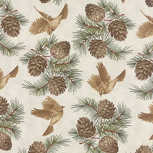 pine cone fabric - 2