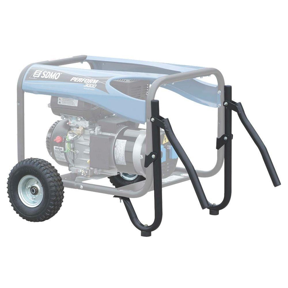 widmer Juego de ruedas para generadores de corriente, 1 pieza, 2 y 3 KW: Amazon.es: Bricolaje y herramientas