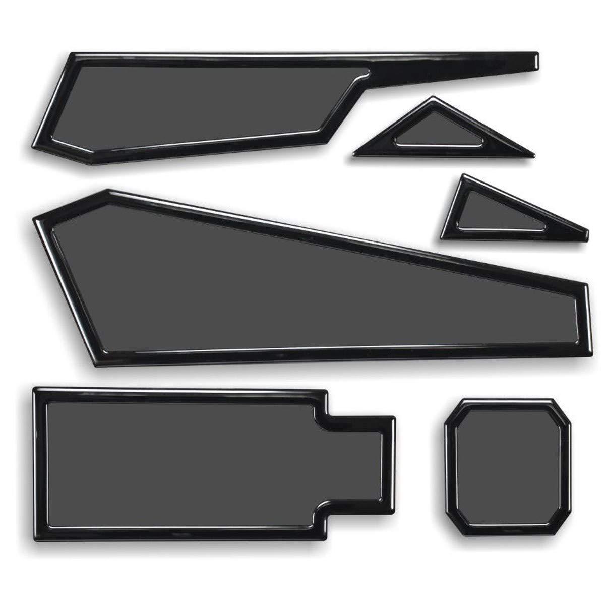 DEMCiflex Dust Filter Kit for Corsair Spec Alpha, Black Frame/Black Mesh