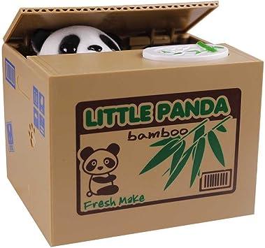 M&A - LA HUCHA CON SONIDOS, ANIMAL ROBA SU DINERO, DISEÑO DE PANDA: Amazon.es: Juguetes y juegos