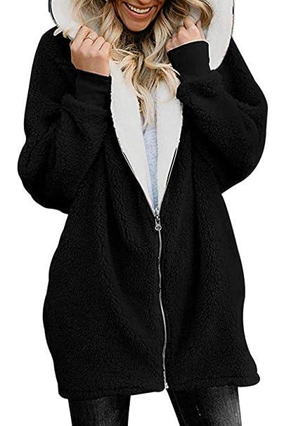 Amazon.com: Volita - Chaqueta con capucha y cremallera para ...
