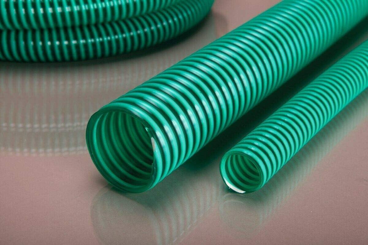 Quarzflex/® Saugschlauch Spiralschlauch F/örderschlauch Pumpenschlauch 50mm Made in Germany TOP Qualit/ät 10 Meter