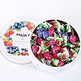 Maxim's 马克西姆 树莓蓝莓夹心糖 混合水果糖 100g(意大利进口)(亚马逊自营商品, 由供应商配送)