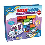 #4: ThinkFun Rush Hour Junior Traffic Jam Logic Game and STEM Toy for Boys and Girls Age 5 and Up - Junior Version of the International Bestseller Rush Hour