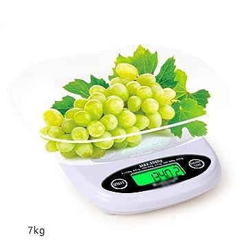 Kitchen Scale Pesaje electrónico de la Escala de la Cocina 0.1g de precisión de Escalera