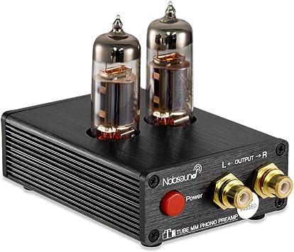 Nobsound T1 - Preamplificador de Audio estéreo de Audio Hi-Fi con ...