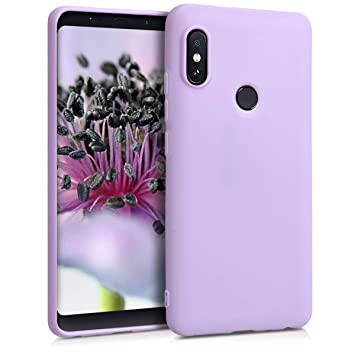kwmobile Funda compatible con Xiaomi Redmi Note 5 (Global Version) / Note 5 Pro - Carcasa de [TPU silicona] - Protector [trasero] en [lila]