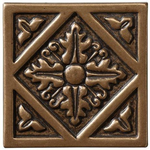 Marazzi Romance Collection Insert Decorative Accents, 1 x 1, Bronze Diamond by Marazzi