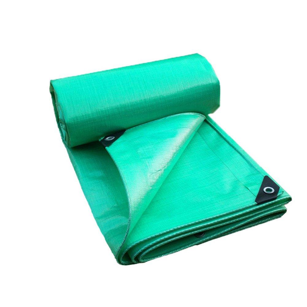 Im Freien Plane, regendichte Sonnenschutzplane LKW-Plane im Freien Sonnenschutz staubdicht Winddicht Kunststofftuch Hochtemperatur-Anti-Aging (Farbe : A, größe : 6M6M)