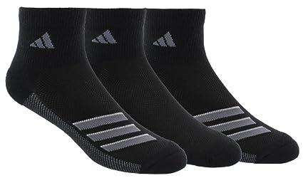 save off ed0b5 38a03 adidas Mens Climacool Superlite Quarter Socks (3-Pack), BlackOnix