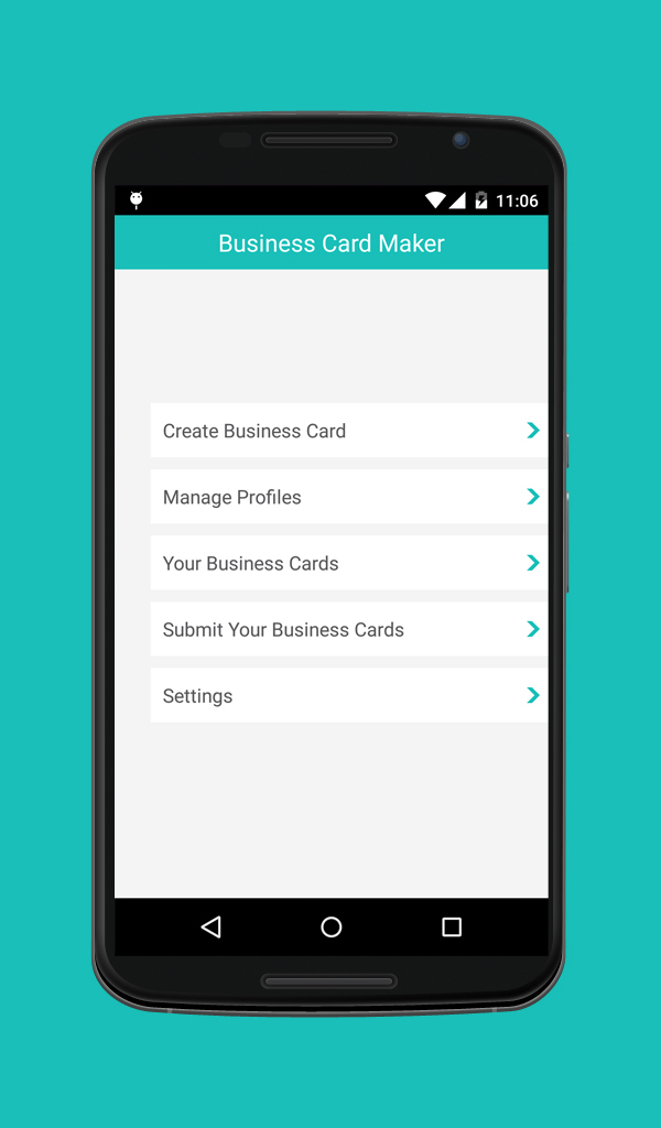 Amazon.com: Business Card Maker: Appstore for Android