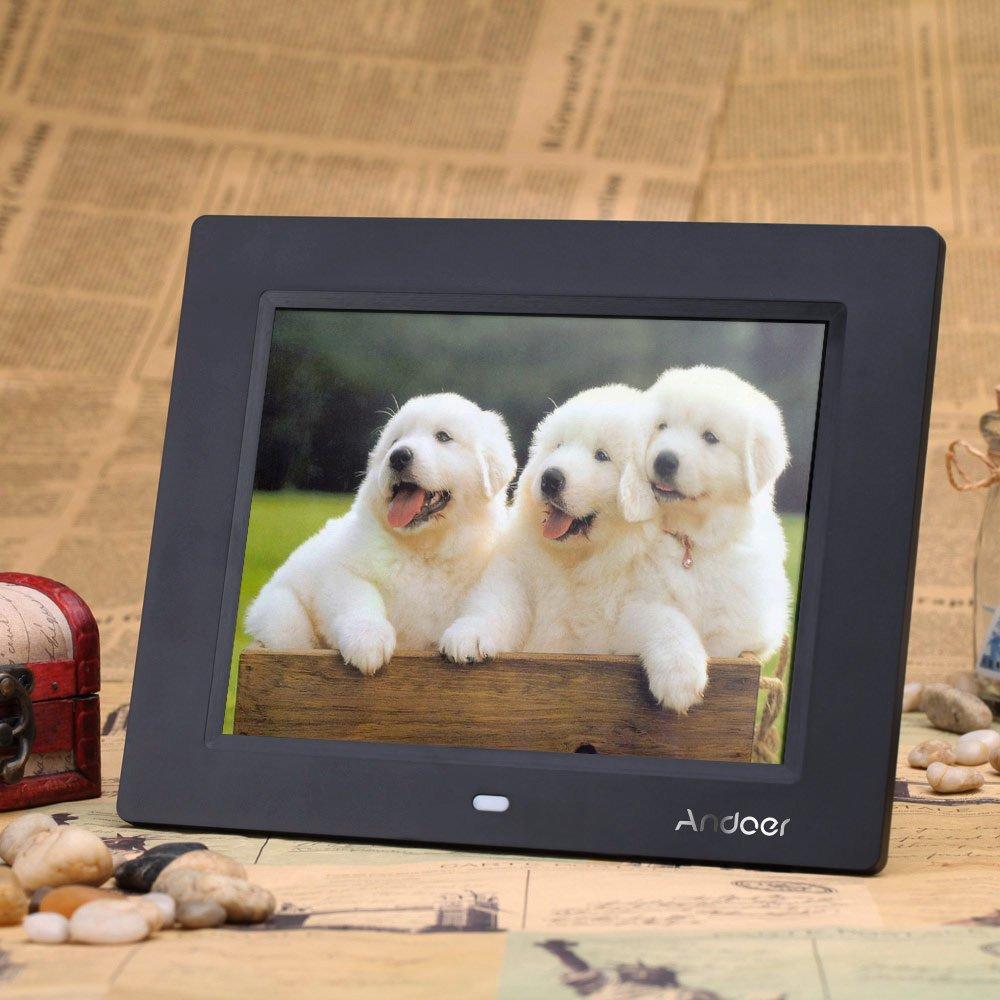 Amazon.com: Andoer 8inch Ultrathin HD TFT-LCD Digital Picture Photo ...