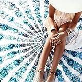 Indian Mandala Tapestry, Twin Hippie Wall Hanging, Bohemian Bedding, Boho Picnic Blanket, Gypsy Dorm Decor, Cotton Beach Throw