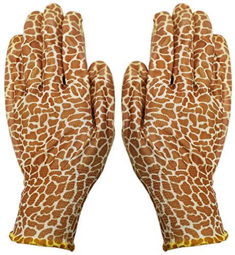 Single Pair of Black Duck Brand Classy & Stylish Vinyl Gardening Gloves! One Size Fits Most! Soft Comfortable Lightweight Gloves with Vinyl Coating for Protection and Grip! - Classy Brands