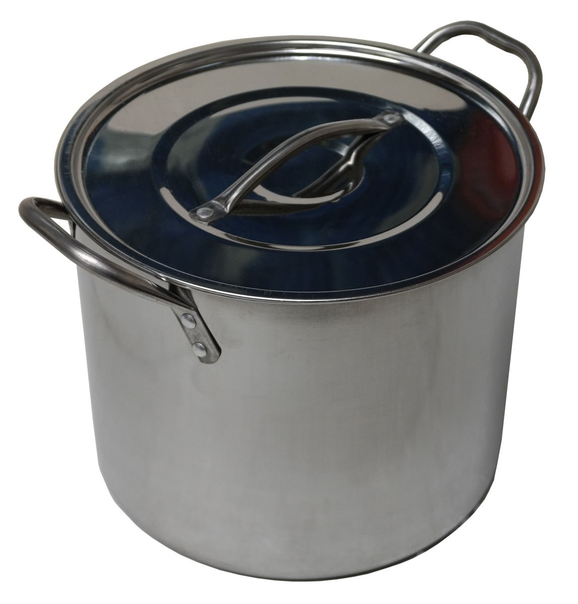 6.2L Stainless Steel Stock Pots Cooking Casserole Boiling Pot Deep Catering Stockpot Marko