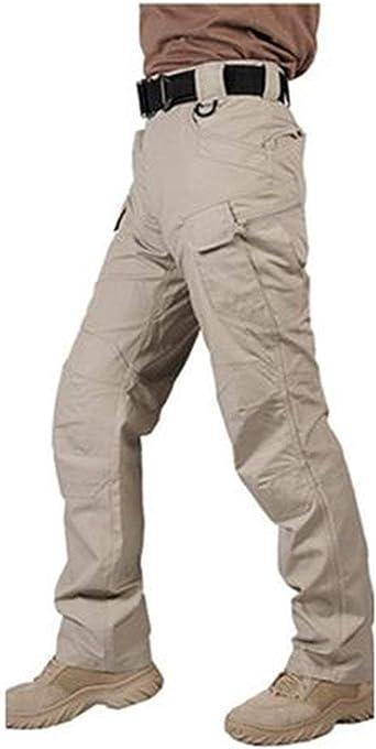 Amazon Com Pantalones Tacticos Militares Impermeables Para Hombre Swat Combate Pantalones De Carga Casual Para Hombre Moderno Xl Clothing