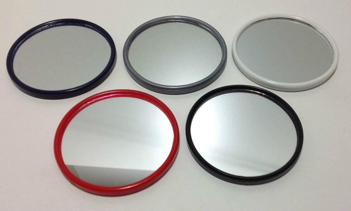 niavida 10 x Taschenspiegel rund 60 mm