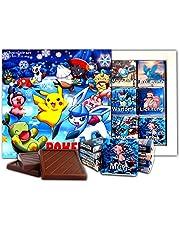 DA CHOCOLATE Candy Souvenir Pokemon Box Chocolate Gift Set 13x13cm 1 Box