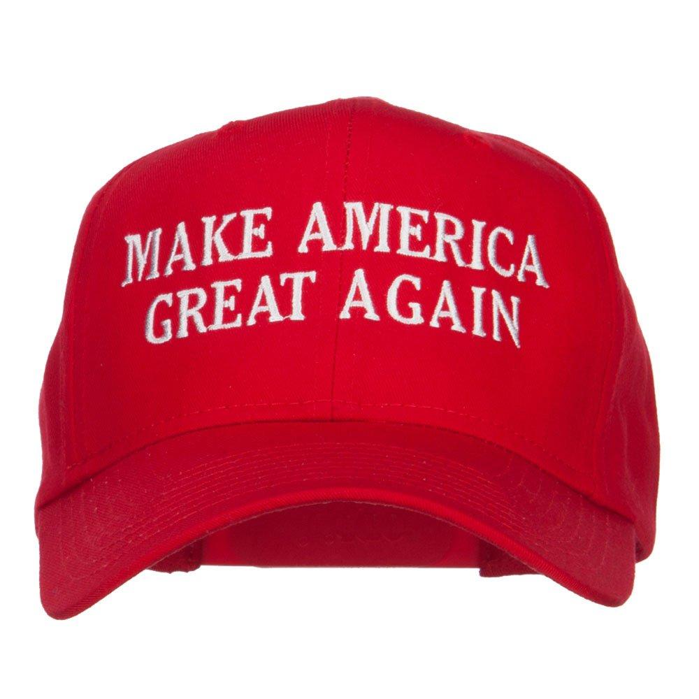 E4hats Make America Great Again Embroidered Cap mk301ca-black-osfm