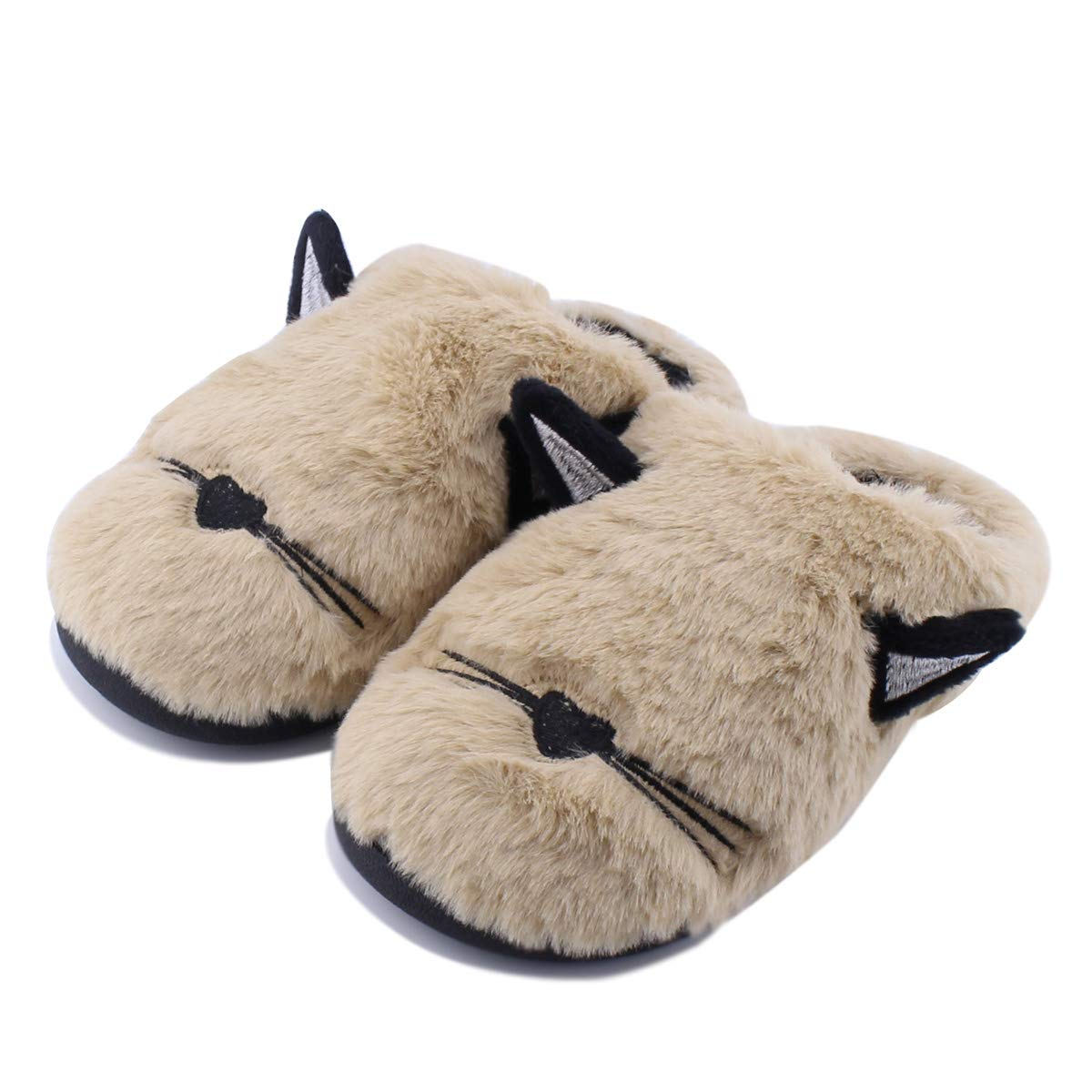 SENFI Kids Slipper Slip On House Doggy Winter Indoor