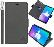 DefenderShield Compatible iPhone 8 / iPhone 7 EMF Radiation Protection Case - Detachable Magnetic Anti Radiation Shield & RFID Blocker Wallet Case w/Wrist Strap