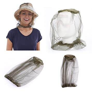 Beekeeping Supplies Mosquito Cap Midge Fly Bug Insect Bee Hat With Net Mesh Head Face Protector Fishing Hat Garden Outdoor Camping Hiking Hunting Protective Clothing