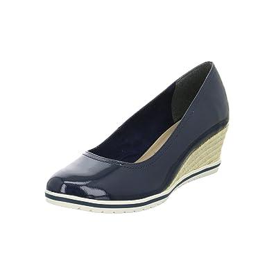 bfd335b5cafa Tamaris Womens Shoe 22441 Navy 36  Amazon.de  Schuhe   Handtaschen