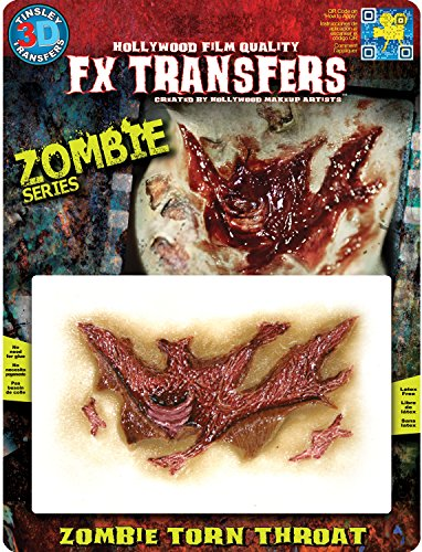 Tinsley Transfers FX Transfers Zombie Torn Throat -