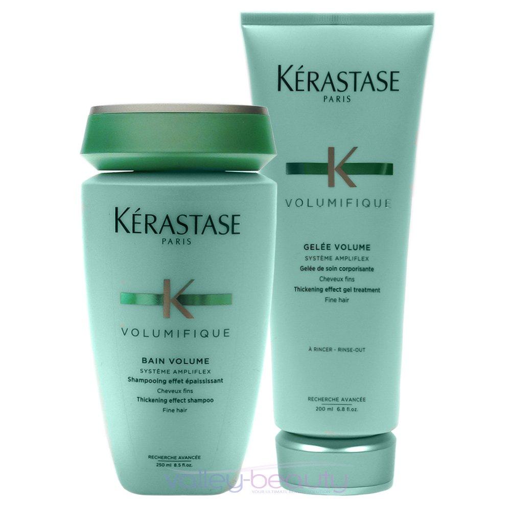 Kerastase Resistance Bain Volumifique + Volumifique Lait for Fine Hair in an Exquisite Giftbag