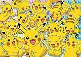 Pokemon Official Jigsaw Puzzle - KiraKira! Pikachu Darake Review and Comparison