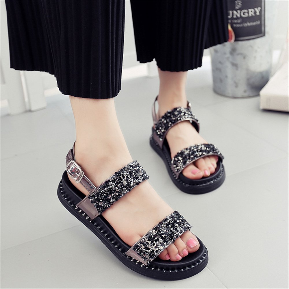 F1rst Rate Womens Casual Platform Sandals Anti-Slip Outdoor Shoes