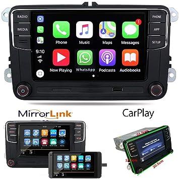 Coche Radio Autoradio RCD330 Carplay Navegador GPS 6.5
