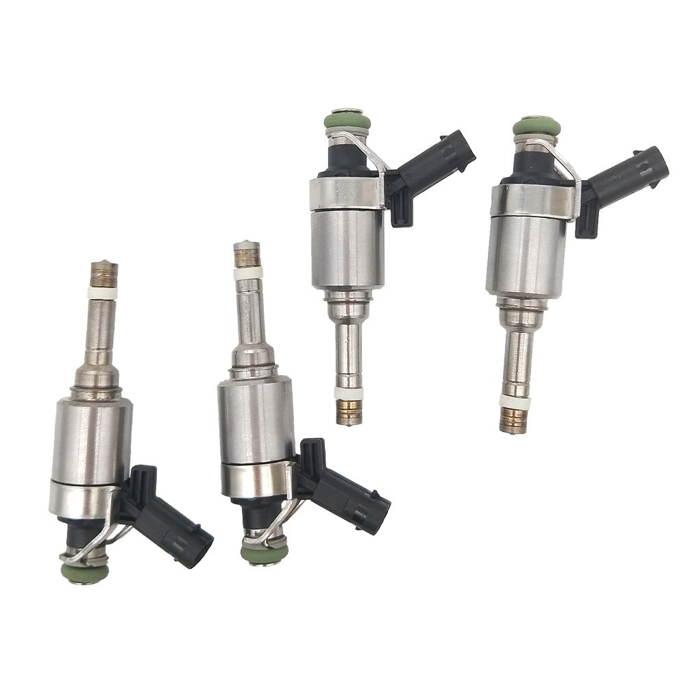 4Pcs Set Fuel Injectors 6 Holes Fit For Passat Jetta EOS GTI A3 A4 A5 Q5 2.0L 2009-2014 06H906036G JESBEN