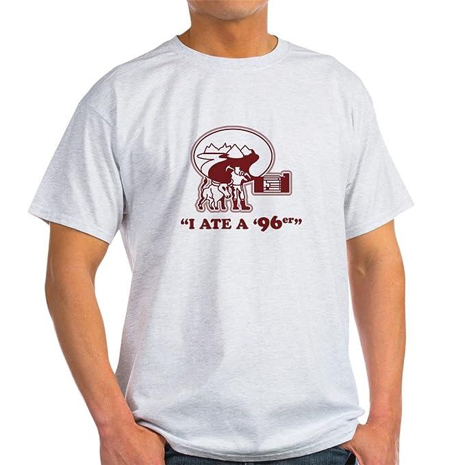 9295f0e5800 Amazon.com: CafePress I Ate a 96er Light T-Shirt Cotton T-Shirt ...