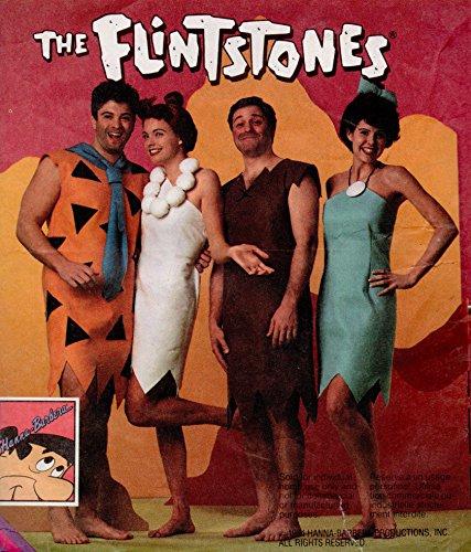 Flintstone Costumes Patterns (McCall's 8939 Kids Sizes,