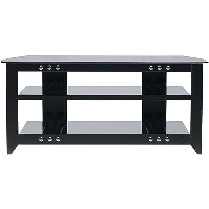 Sanus Systems NFV249 B1 Natural Furniture Series 49 Inch Wide 3 Shelf A