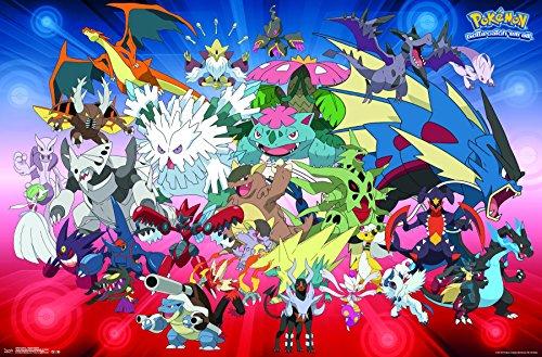 Trends International Pokémon-Mega Evolutions Premium Wall Poster, 22.375