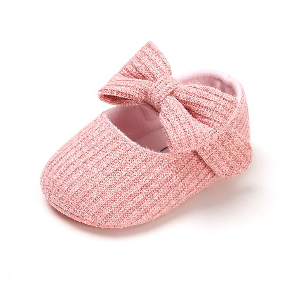 Infant Baby Boys Girls Slippers Cozy Fleece Booties Soft Bottom Warm Cartoon Socks Newborn Crib Shoes