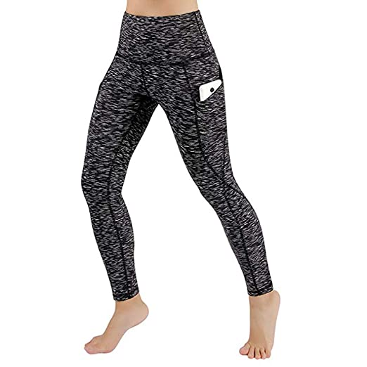 f31a796dedf64 Amazon.com: Women Yoga Pants, Workout Out Leggings Fitness Sports Gym  Running Yoga Athletic Pants with Pocket: Clothing