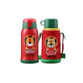 Amazon.com: Botella de agua, taza de viaje infantil, acero ...
