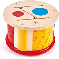 Hape Double Sided Hand Drum, Multicoloured (E0608)