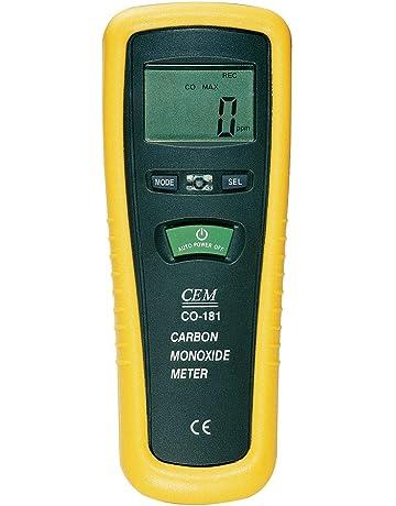 Medidor de monóxido de carbón CEM Co de 180