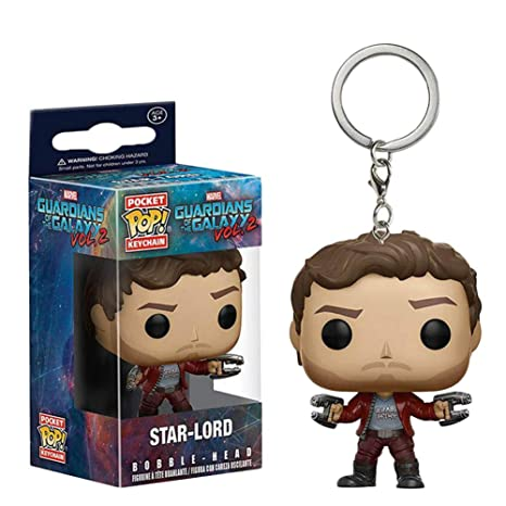 liaoting938 - Llavero de Bolsillo con diseño de Guardianes de la Galaxia Groot/Rocket Raccoon/Peter Quill/Star-Lord, D