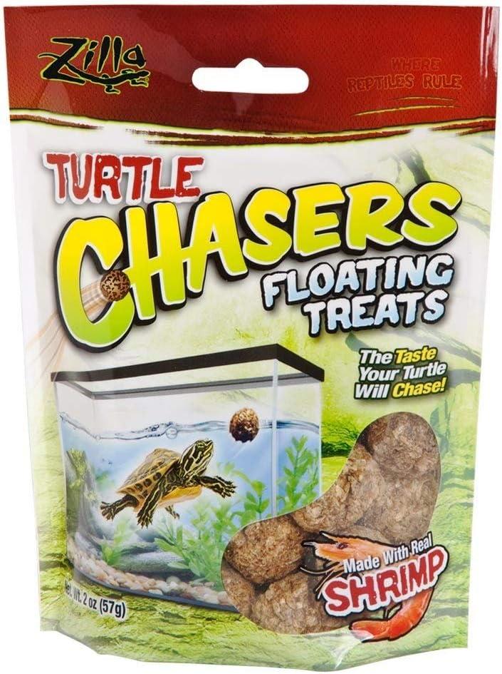 Zilla Turtle Chasers Floating Treats Shrimp 2oz