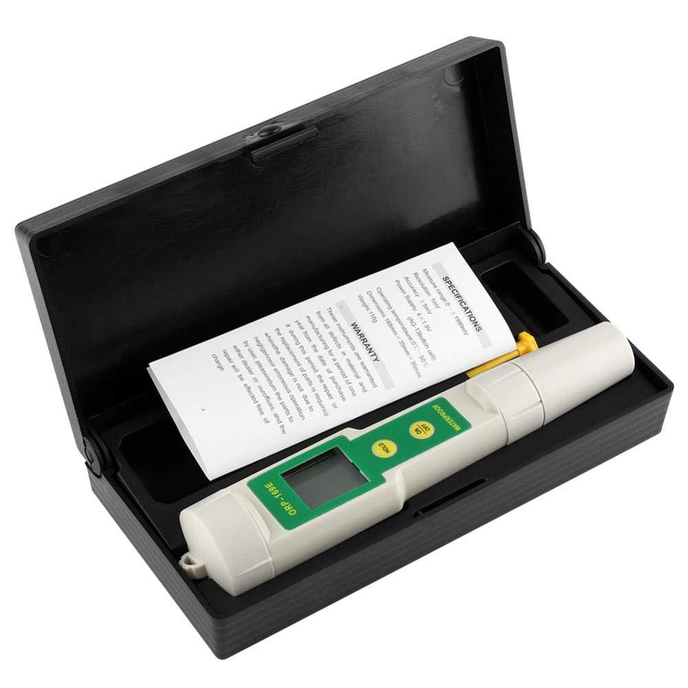 Duokon 2 in 1 Digital ORP//TEMP Meter Tester Waterproof Housing Aquarium Pool Hydroponic Water Measuring Tool